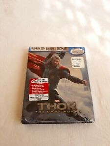Thor 2 The Dark World Steelbook Blu-ray USA import Best Buy exclusive sealed