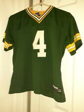 Green Bay Packers Brett Farve  Football Jersey  Youth Sz M 🏈