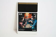 Shanghai Mahjong Solitaire Hu Card HU-CARD PC Engine PCE Japan Import US Seller