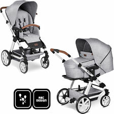 ABC Design Kinderwagen 2 in 1 Set Turbo 4 Modell 2020 graphite Kombikinderwagen