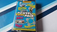 COMMODORE 64 GAME THE CF POWER PACK TAPE 17. TESTED. 3 FULL GAMES, & 1 DEMO