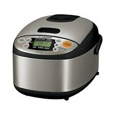Zojirushi NS-LAC05XT Micom 3-Cup Rice Cooker and Warmer Black Stainless Steel