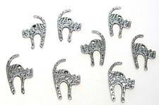 50 niedliche Fimoperlen Tiere Kugeln Kreise 10-22 mm Fädelloch ca 0,5-0,8 mm
