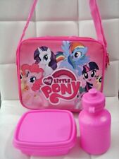 NEW My Little Pony Lunch Food Shoulder Bag Carry Dining Pouch Handbag Case Gift