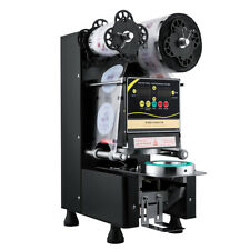 Fully Automatic Bubble Tea Coffee Paper Cup Plastic Cup Sealing Machine