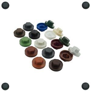Abdeckkappen für Fassadenbauschrauben mit 16mm EPDM div. RAL Farben