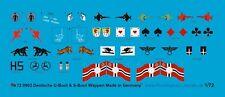 Peddinghaus-Decals 1/72 0903 Deutsche U-Boot Wappen Flottille Wappen und Fahnen