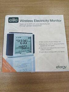 Efergy Elite Wireless Home Energy Monitor Electricity Smart Meter