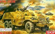 BTR 152 E-Soviética & Pacto de Varsovia SPAAG (soviético & húngaro MKGS) 1/35 SKIF Rara!