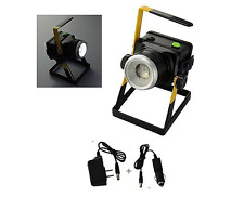 Portable Cordless Zoomable Water-resistant 10W Led Rechargeable Flood Light Lamp