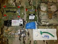 Multicam LOW PROFILE IFAK w North American Rescue Trauma Kit NAR CAT Tourniquet
