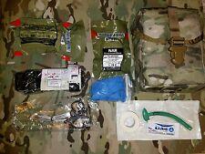 Multicam LOW PROFILE IFAK w North American Rescue Trauma Kit NAR CAT Tourniquet