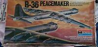 Monogram B-36 Peacemaker 1/72 Vintage Model Aircraft