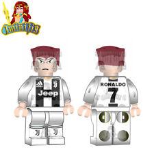 LEGO Ronaldo in Juventus 18 19 Jersey Custom minifigure Football Soccer