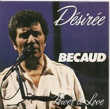 "45 TOURS / 7"" SINGLE--GILBERT BECAUD--DESIREE--1983--"