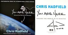 Chris Hadfield SIGNED & DATED You Are Here: Around the World in 92 Min 1st/1st