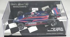 LOTUS FORD 81 #11 Mario ANDRETTI F1 1980 TEAM ESSEX Brazilian GP MINICHAMPS 1:43