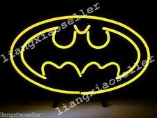 New Rare Batman Superhero Comic Real Neon Sign Beer Bar Pub Light Free Shiping