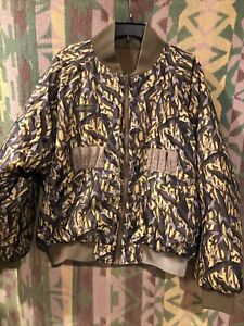 Vintage 1995 COLUMBIA Camouflage DELTA MARSH Reversible Hunting Jacket Size XL