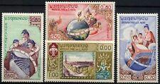 Laos 1958 SG#85-88 UNESCO Headquarters MNH Set #D58542