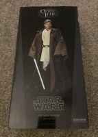 "Sideshow Obi-Wan Kenobi 1/6 Star Wars Episode II Exclusive Edition 12"" Figure"