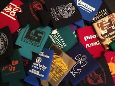 10 Random Neoprene Koozie Lot Coolie Soda Beer Can Coolers Unique Funny New