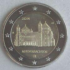 2 Euro Deutschland A 2014 Niedersachsen / Michaeliskirche unz