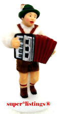 Dept. 56 Alpine Villager Figure Bavarian Accordion Player Retired 56215
