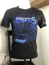 Womens Medium Maroon 5 T Shirt - Overexposed Tour 2013
