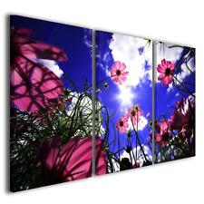 Stampe su tela fiori Light among flowers quadri moderni colorati ® quality