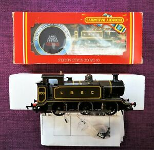 Hornby R315 LBSC Class E2 0-6-0T Loco'100' LBSC Brown Livery (Gloss) BOXED.