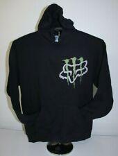 Monster- Fox Racing Fan - Hoodie Sweatshirt Large, Black