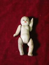Vintage Antique 1930s Miniature Bisque Jointed BABY DOLL Small Japan Dollhouse