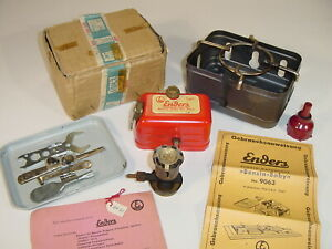 Vintage Enders Benzin Baby 9063 German Petrol Gas Cook Stove - Rarely Used + Box
