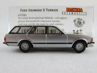 Brekina 19517 Ford Granada MK II Turnier (1977) in silbermet. 1:87/H0 NEU/OVP