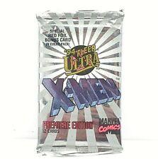 1994 Fleer Ultra X-Men Blue Walmart exclusive Red Foil Bonus Silver X-OVERS