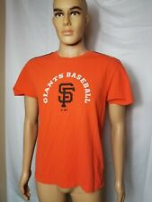 San Francisco Giants Baseball Adidas Shirt Orange MLB Youth Size XL SF