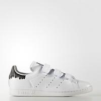 New Adidas Original Womens Stan Smith CF BY2975 WHITE US W 5.0 - 9.0 TAKSE