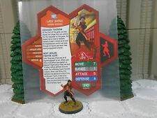 Heroscape Custom Lady Shiva Double Sided Card & Figure w/ Sleeve DC