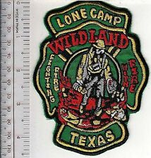 Hot Shot Wildland Fire Crew Texas Lone Camp Fighting Fire with Fire
