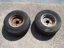 Cub Lo Boy 154 front rims and tires  International Cub Lo Boy 154,184,185