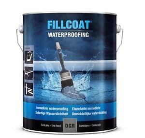 Rust-Oleum Fillcoat Dachbeschichtung 1 Liter wasserdicht für Dachrinnen 25.DGR.1