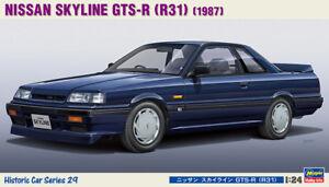 Hasegawa 21129 HC-29 1/24 Scale Model Car Kit Nissan 7th Skyline GTS-R R31 HR31