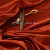 New Designer Quality Plain Silk Shiny Velvet Upholstery Curtain Fabric In Orange
