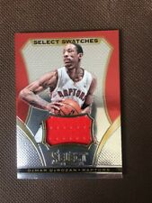 NBA Jersey Card DeMar DeRozen Panini Select 13-14