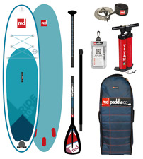 Red Paddle Co 10'8 Ride Inflatable SUP Stand Up Paddle Board 2018 Package