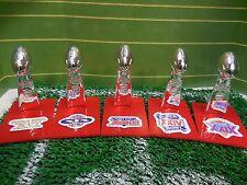 San Francisco 49ers Mini Lombardi Trophy Set Mcfarlane/Pocket Pro