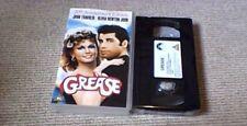 Grease 20th Anniversary UK VHS VIDEO 2001 John Travolta Olivia Newton-John NEW