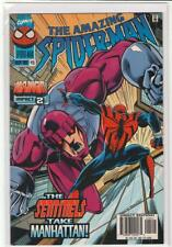 Amazing Spiderman #415 last Mark Bagley issue Onslaught clone saga 9.4