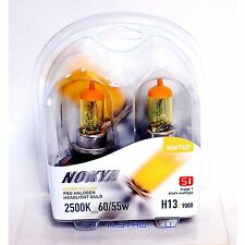 Nokya H13 Hyper Yellow S1 Low Beam Headlight Halogen Light Bulb 1 Pair NOK7627